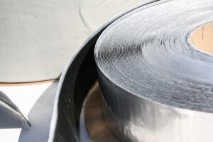 Бутилкаучуковая лента с алюминиевой фольгой